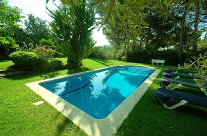 villa in Tamariu