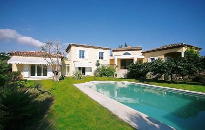 family villa on the Cote d'Azur