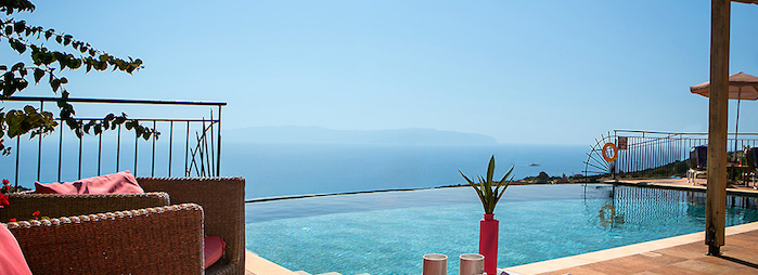 Arethusa Villa in Kefalonia's amazing view!