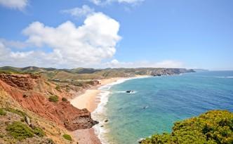 Praia do Amado - a beach on the Algarve