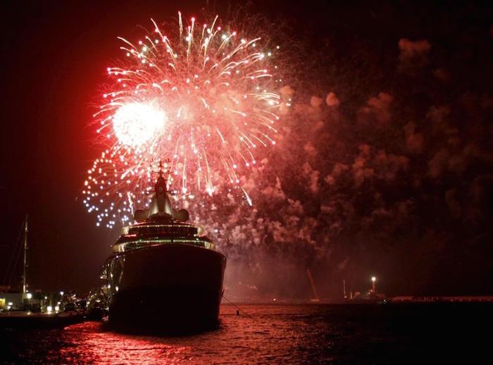 Fireworks in Ibiza