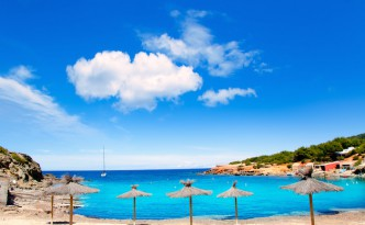 Las Salinas Beach on Ibiza