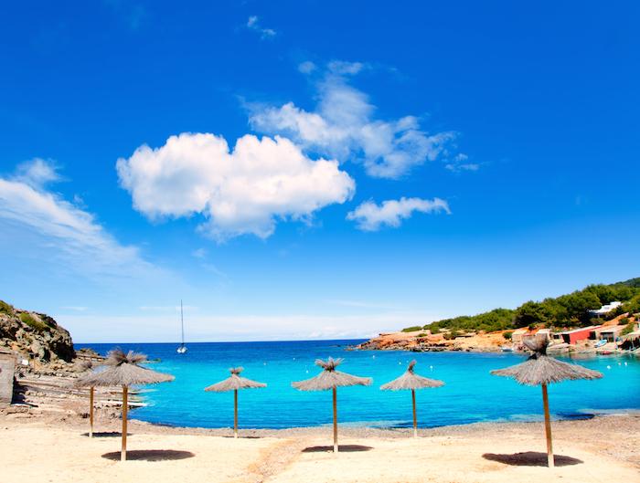 Las Salinas Beach on Ibiza