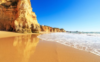 Praia da Marinha on the Algarve