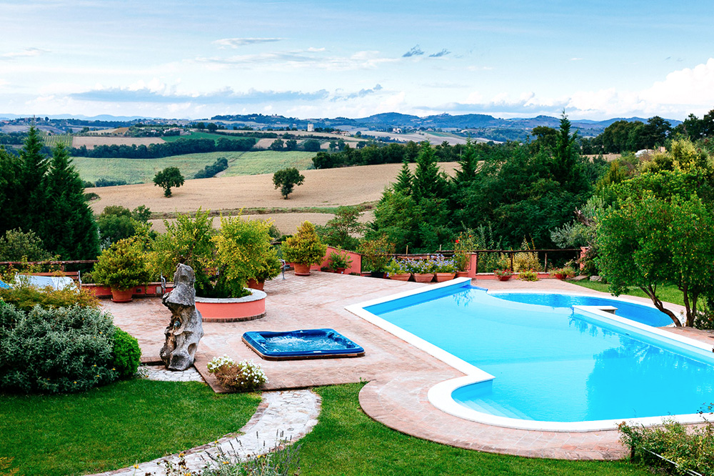 Villa Due Santi: The house made for big kids in the heart of the Umbrian countryside