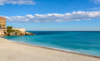 Beach on Cote d'Azur