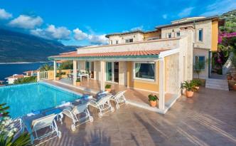 Villa Mirage in Turkey's ultra-sought after Kas Peninsula