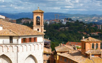 The town of Perugia
