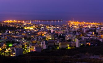Rethymno at night