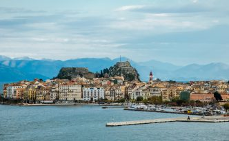 Corfu in winter