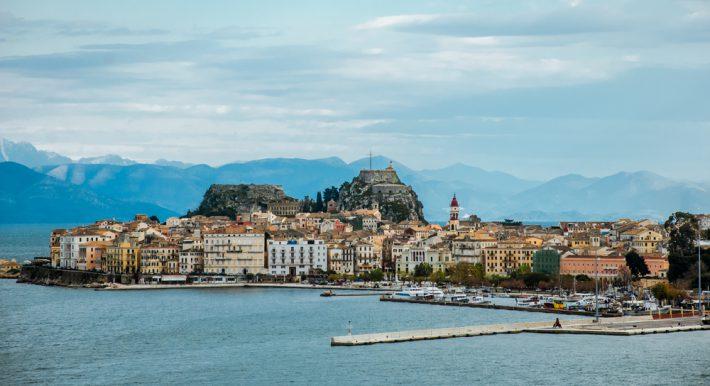 Corfu in winter