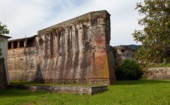 Medici Fortress. Sansepolcro. Italy.