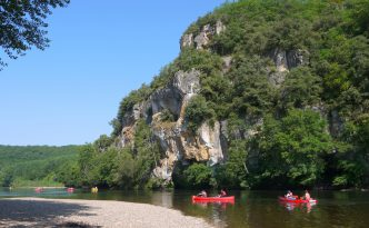 Kayaking in Dordogne