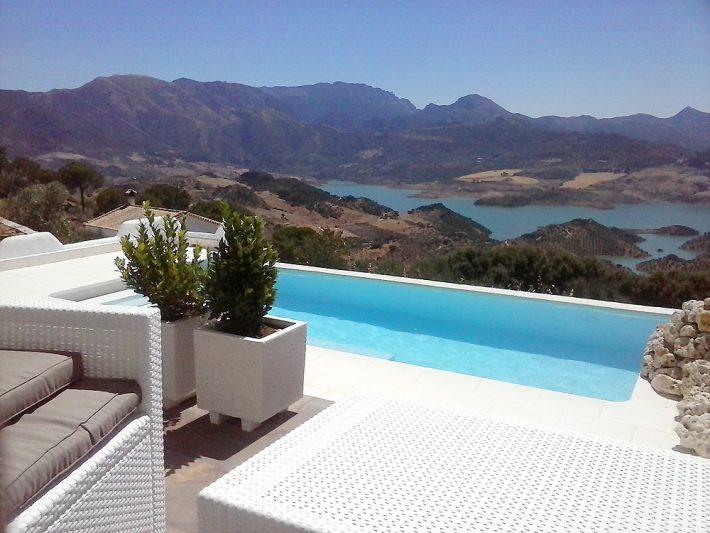 View from La Almena Blanca