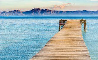 View from Playa de Muro