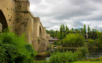 Roman bridge, Ourense