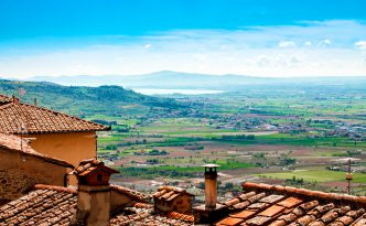 Chiana Valley View, Cortona