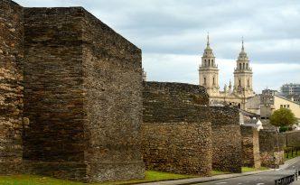 Roman walls at Lugo