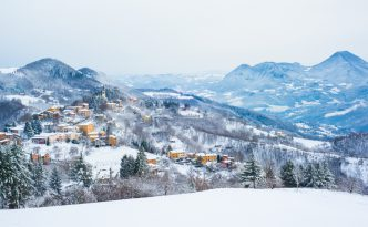 Pietracolora, Tuscany in Winter