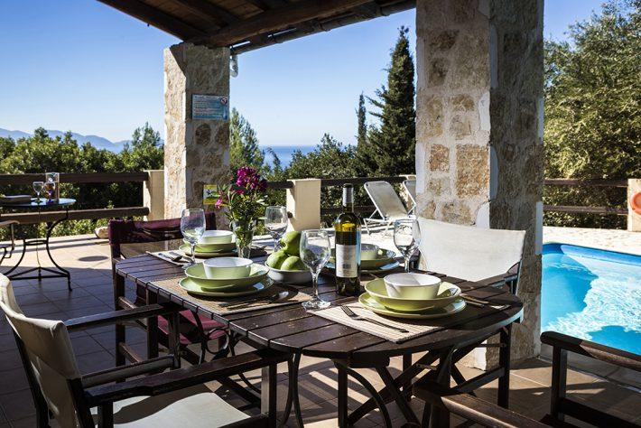 Villa Athina in Fiscardo, Kefalonia, Greece