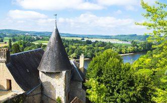 France, Dordogne, Limeuil, labelled Les Plus Beaux Villages de F