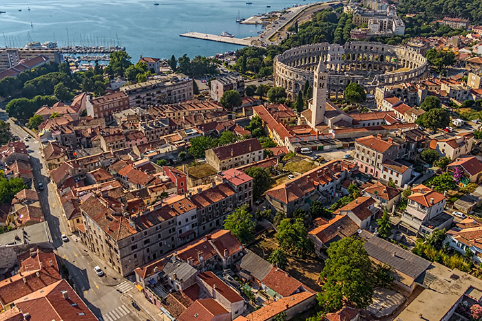 Pula, Istria