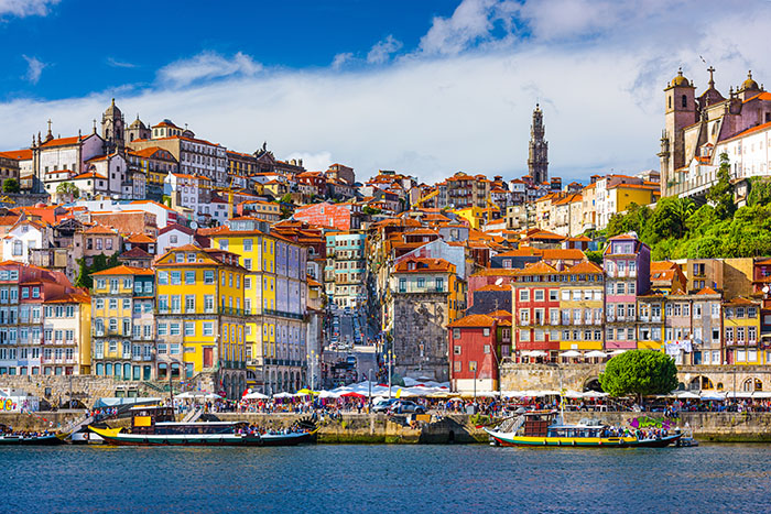 Porto from the river Douro