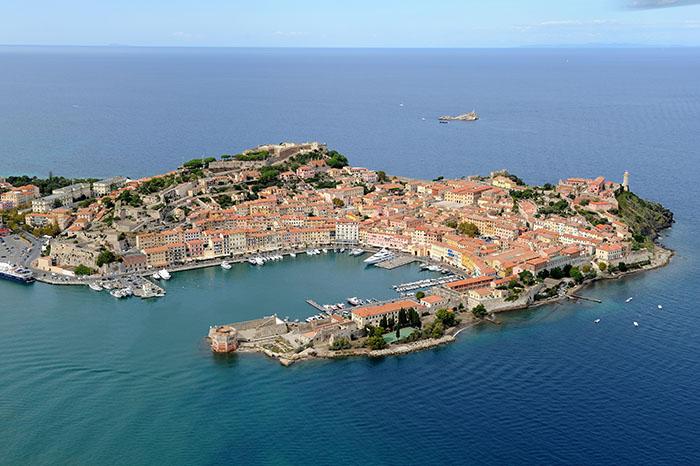 Portoferraio harbour, Elba island