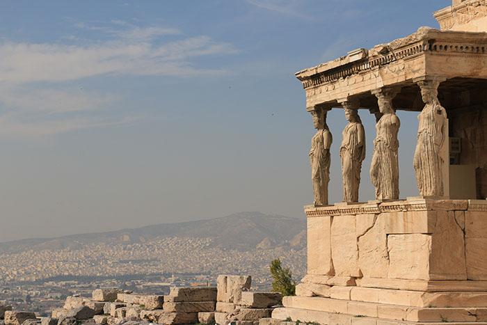 Temple of Athena Polias - Acropolis - Athens
