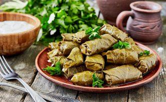 Traditional Greek Dolmades