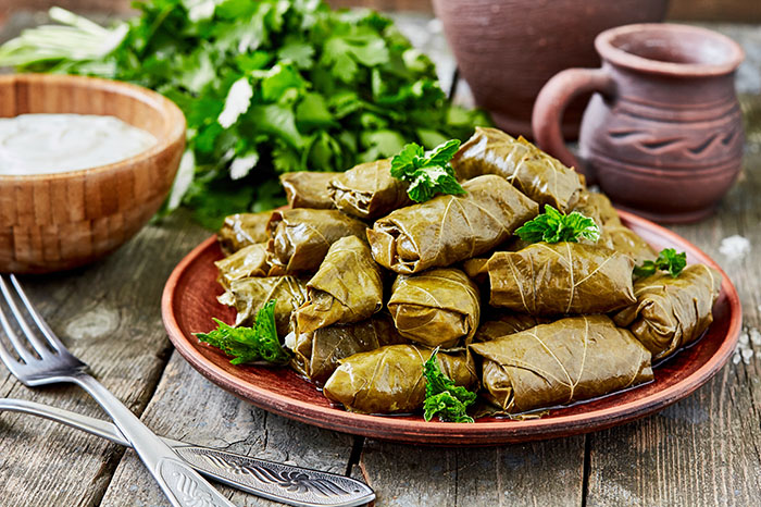 Traditional Greek Dolmades
