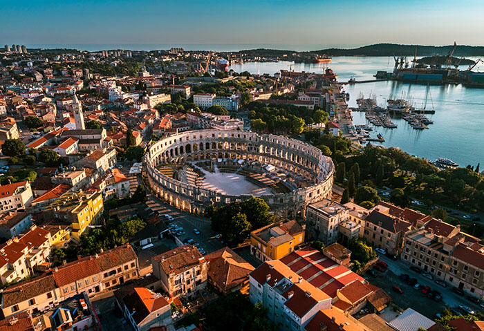 Pula, Istria, Croatia