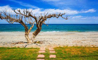 Maleme beach, Crete, Greece