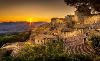 Why the imposing fortified Etruscan town of Volterra in Tuscany should be on every culture-vulture's 'to go' list