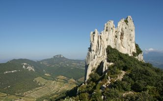 Rock climbers and hikers head to the Dentelles de Montmirail in Provence for an unforgettable experience