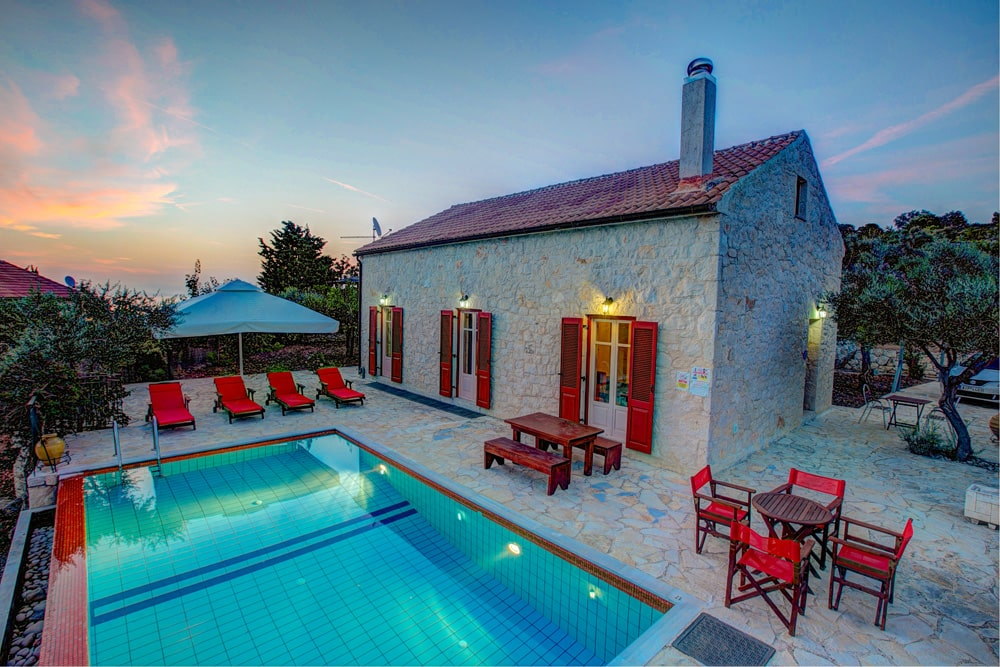 Romantic Villas on Ithaca