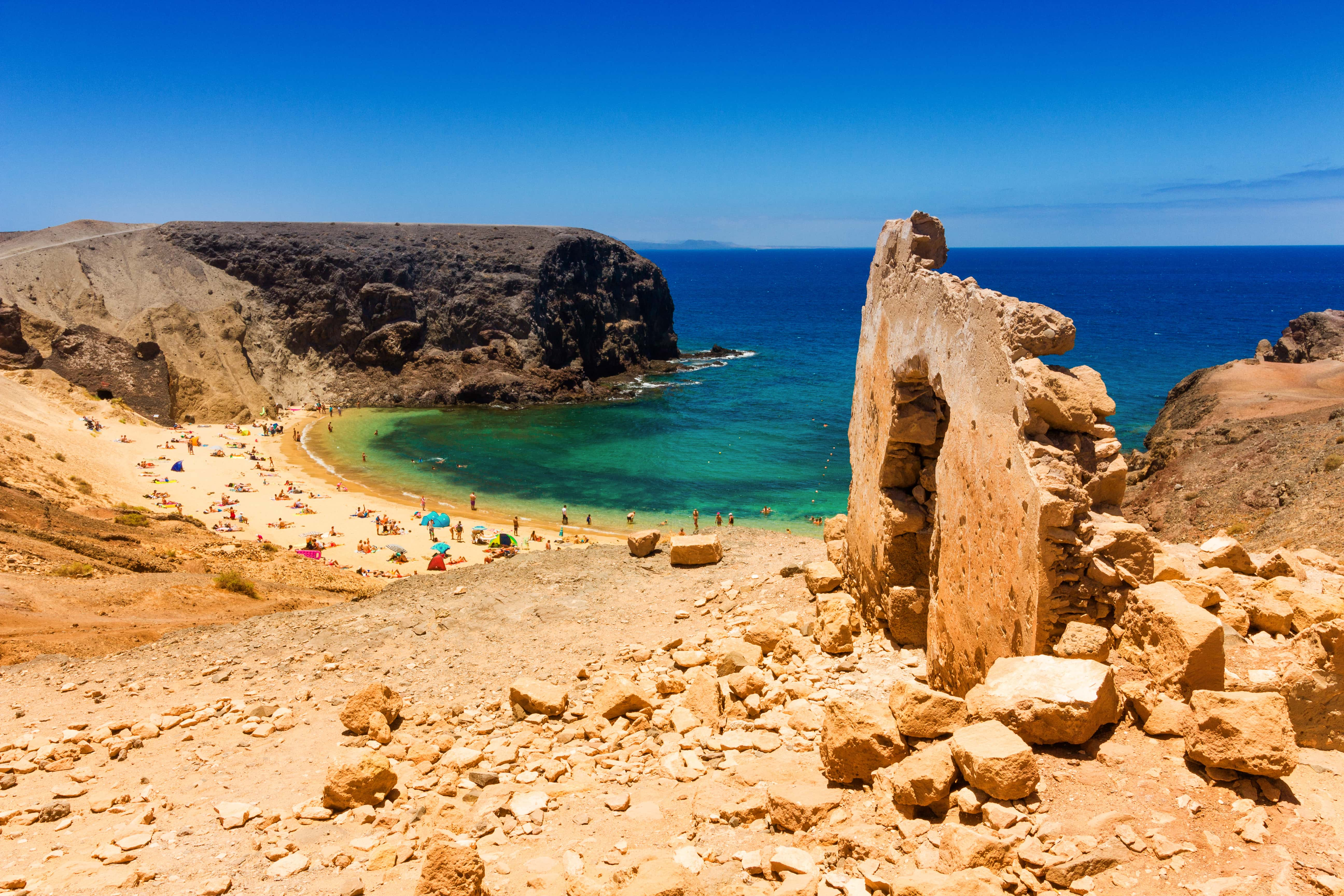 The best beaches on Lanzarote for family fun in the sun