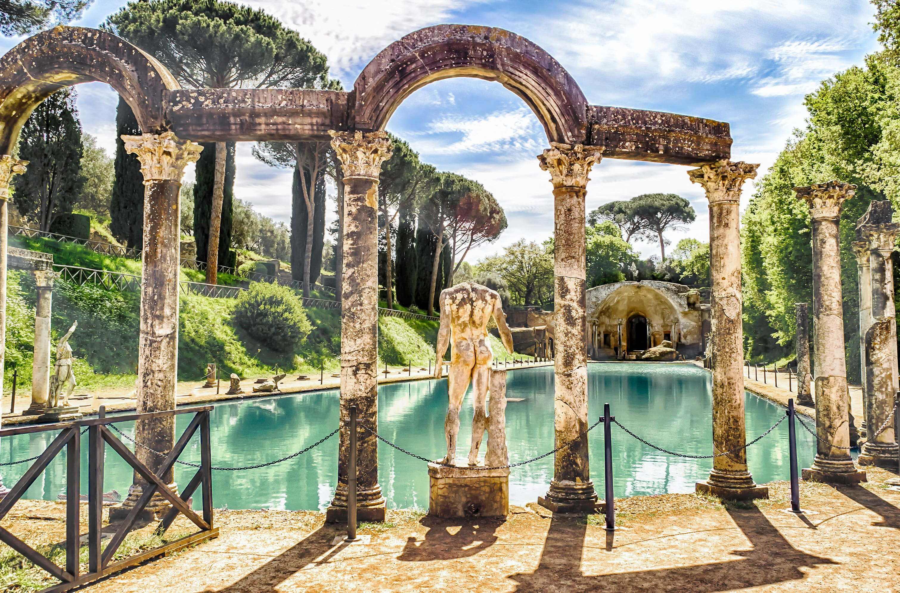 What's there to see in Lazio's town of Tivoli