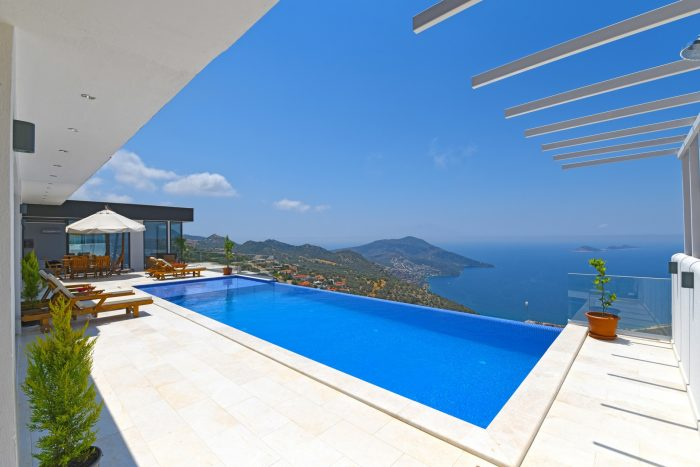 Villas with view on the lycian coast