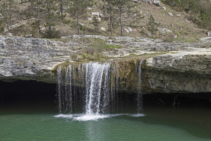 Exploring the Istrian waterfalls of Zarecki Krov