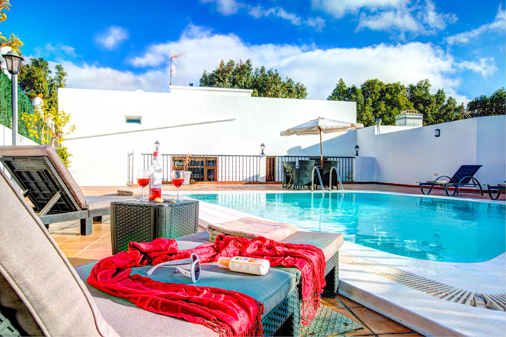 Vintage Travel villas for a romantic escape to Lanzarote