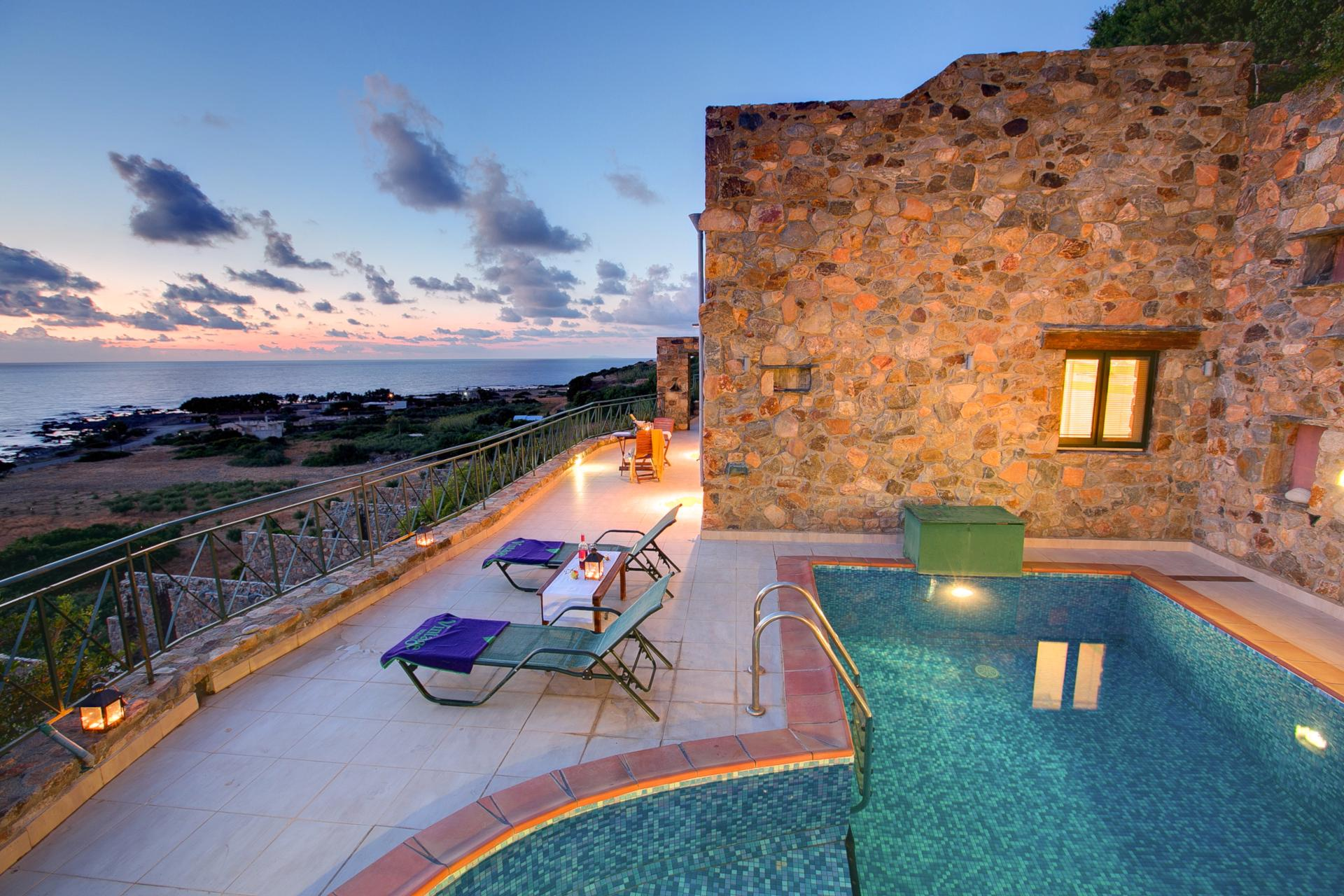 Romantic retreats for two on Crete