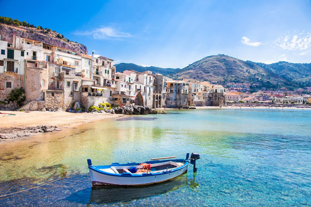 Exploring the historic town of Cefalu in Sicily