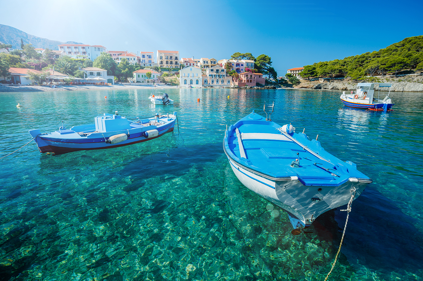 Things to do in the laidback village of Assos, Kefalonia