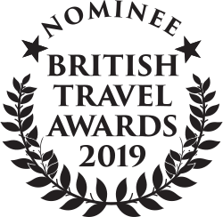 British Travel Awards Nominee 2019.