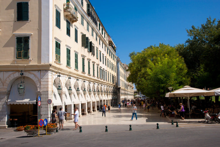 Villages & towns in Corfu