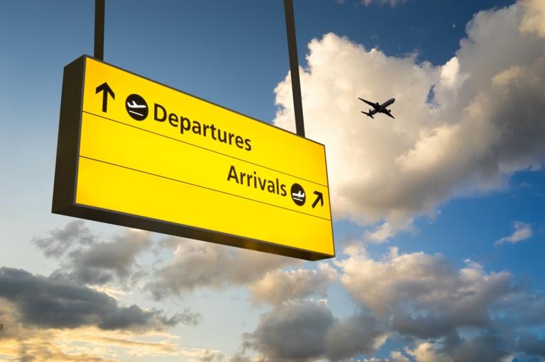 iStock Flight departure